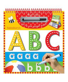 Take a look at this Wipe Clean ABC Easel Book & Pen Set by Make Believe Ideas on #zulily today!
