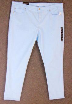 c83df1f6564 NWT Gap Light Blue Jeans 18-34R Girlfriend Mid Rise Slim Stretchy Cotton  NEW  Gap  CasualPantsGirlfriend