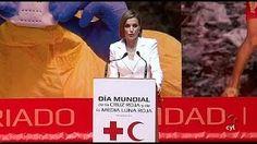 S.M. la Reina preside en Valladolid el Día de la Cruz Roja y la Media Luna Roja - YouTube
