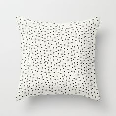 crazy dots Throw Pillow by Sweet Reverie - $20.00