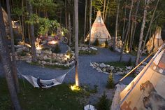 Teepee village and Spa by John Turchin