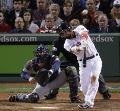 10/30/13 Shane Victorino hits a.3-run wall-ball double...first hit of the World Series comes in Game 6 at Fenway. And it doesn't stop there--an RBI single in the 4th bringing in David Ortiz..