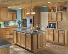 Wheat Armstrong Branford Cabinets