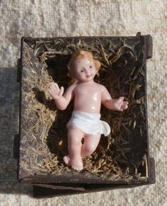 677 best nativity figures baby jesus manger images in 2018