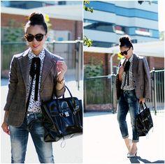 Black Tie (by Hallie S.) http://lookbook.nu/look/4032894-Black-Tie