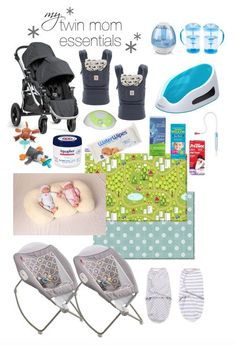 twin mom baby registry essentials, important gear for the first year of parenting, baby registry, twin pregnancy, twin mom gear Twin Baby Boys, Twin Mom, Twin Babies, Baby Twins, Baby Baby, Newborn Twins, Twin Baby Stuff, Pregnancy Twins, Triplets