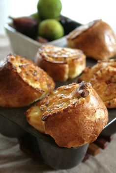 FOOD: Popovers on Pinterest | Popover Recipe, Popover Pan and Cheddar