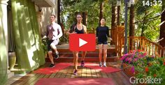 Minute HIIT: All you need is a mat to fit in this calorie-torching full-body workout. Short Workouts, Tabata Workouts, Interval Training, Easy Workouts, At Home Workouts, Weight Workouts, Fitness Tips, Health Fitness, Workout Fitness