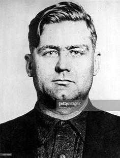 Organised Crime, 1930's, Chicago, USA, The mug-shot of Prohibition time Mafia Gangster George 'Bugs' Moran