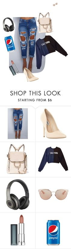 """""""relax  paseo"""" by olga-pazgarcia on Polyvore featuring beauty, Steve Madden, Cynthia Rowley, Beats by Dr. Dre, Christian Dior and Maybelline"""