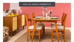 Sala de Jantar Romântica ♥