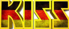German Logo Kiss Logo, Vinnie Vincent, Eric Carr, Peter Criss, Kiss Art, Ace Frehley, Gene Simmons, Star Children, Kiss Makeup