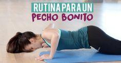 Sigue esta rutina para lograr un pecho más firme y bonito: http://www.pechoejercicios.com/2016/05/ejercicios-para-tener-pechos-mas-firmes.html