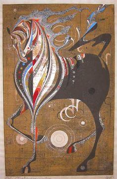Nakayama, 1968. Horse... ♥ Repinned with gratitude by www.DressageWaikato.co.nz ♥ ...