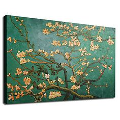 Almond Branches in Bloom Oil Painting by Vincent Van Gogh Free Shipping