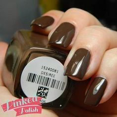 Zoya Nail Polish in Desiree can be best described as a classic sable brown cream that has just enough gray to keep it cool in tone. Brown Nail Polish, Zoya Nail Polish, Brown Nails, Neutral Tones, Nail Colors, Choices, Delicate, Glitter, Brown Nail