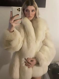 White Fox, Fur Coat, Fur Coats