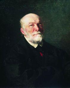 Портрет хирурга Н. И. Пирогова. 1881. Илья Ефимович Репин