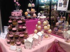 Pasteles de boda y cupcakes