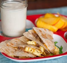 Loaded Breakfast Quesadillas-