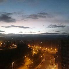 #Bogota sin filtro. #Atardecer #sunset