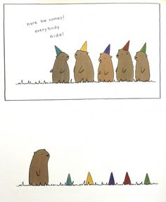 """Animator and illustrator Liz Climo has created a new book titled"""" Little World of Liz Climo."""" A compilation of 100 hilarious comics that feature everyone from grizzly bears to dinosaurs, rabbits to anteaters..."""
