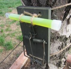 How To Make A Glowstick Alarm Hear the sound of the trap and also see where your perimeter was breached