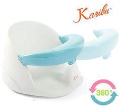 Baby Swivel Bath Seat Infant Bathing Support Ergonomic Bather ...