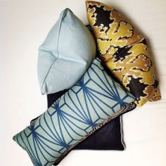 Luxe Cushions. Shop online, coming soon. ScX