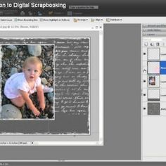 Introduction to Digital Scrapbooking {Digital Scrapbooking Tutorials}