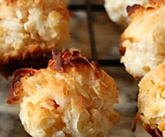 Perfect Coconut Macaroon Cookie Recipe | Paleo inspired, real food