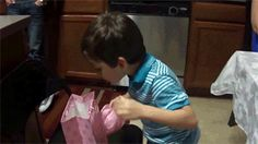 This little kid getting the gift he always wanted: | 29 Pictures That Will Instantly Make Your Day