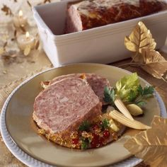 Terrine de sanglier à l'ancienne Foie Gras, Charcuterie, French Food, Prosciutto, Bon Appetit, Entrees, Steak, Curry, Good Food