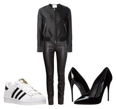 """""""Untitled #42"""" by georgiarose2008 on Polyvore featuring H&M, 3.1 Phillip Lim, Dolce&Gabbana and adidas"""