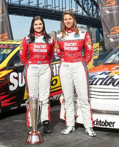 Strap yourselves in, folks, because it's pedal-to-the-metal stuff with Harvey Norman Supergirls Simona De Silvestro and Renee Gracie – the first all-female V8 Supercars driver team to compete at Bathurst's fabled Mount Panorama track since 1998.