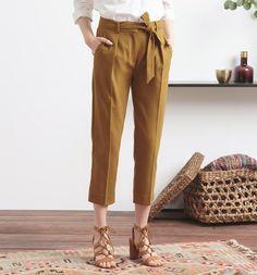 Pantaloni+paper+bag