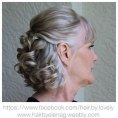 Mother Of The Bride Hair Short, Mother Of The Groom Hairstyles, Mom Hairstyles, Funky Hairstyles, Braided Hairstyles, Hairstyles 2018, Mother Bride, Hairdos, Pretty Hairstyles