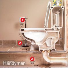 How to Repair a Leaking Toilet.  This site has hundreds of home maintenance how to instructions.