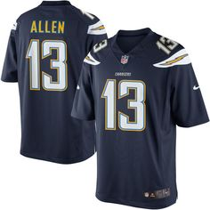 Keenan Allen Los Angeles Chargers Nike Navy Blue Limited Stitched Jersey -  Men s Small  Size Men s Small polyester with stitched graphics NFL logo    woven ... 057edd468
