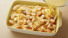 All the flavors of your favorite breakfast sandwich in a ham, cheese and egg bake that will totally make it into your regular weekend rotation. Breakfast Casserole, Casserole Dishes, Casserole Recipes, What's For Breakfast, Breakfast Recipes, 3 Quart Baking Dish, Egg Recipes, Macaroni And Cheese, Food To Make