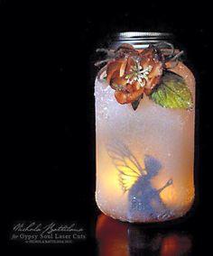 Fairy in a jar!! Love!!