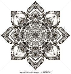 Mandala Pattern Fotos, imágenes y retratos en stock   Shutterstock