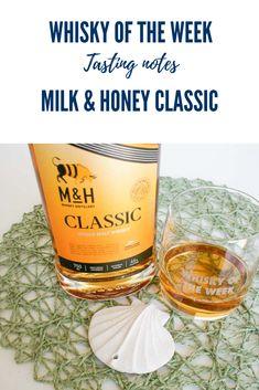 Milk & Honey Classic Single Malt Whisky Review and Tasting Notes Whisky Tasting, Single Malt Whisky, Milk And Honey, Whiskey, Notes, Classic, How To Make, Whisky, Derby