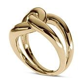 Michael Kors Ring, Gold-Tone Twisted Knot Ring
