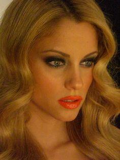 Doukissa Nomikou Hair + make-up by Panos Kallitsis