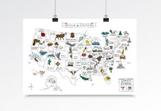 Over 38 million people have watched the music video—now you can own the poster with the 50 states and their capitals. Wyclef Jean, United Kingdom Map, Bad Girls Club, Ikea Frames, Art Institute Of Chicago, Slow Living, Pop Rocks, Meet The Artist, Design Thinking