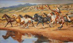 Horse Raiders by Dan Deuter
