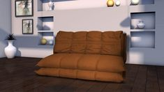 Canapea extensibila ,cadru metalic, disponibila in culori variate, sezut pe baza de poliuretan, latime 1600mm. Floor Chair, Flooring, Furniture, Design, Home Decor, Decoration Home, Room Decor, Wood Flooring