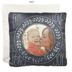 Love In Chalk Pillow by Shutterfly