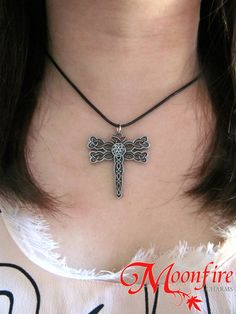 This Celtic dragonfly pendant is inspired by the name of the second Outlander book, Dragonfly in Amber. In the TV series, Hugh Munro gives Claire and Jamie a we